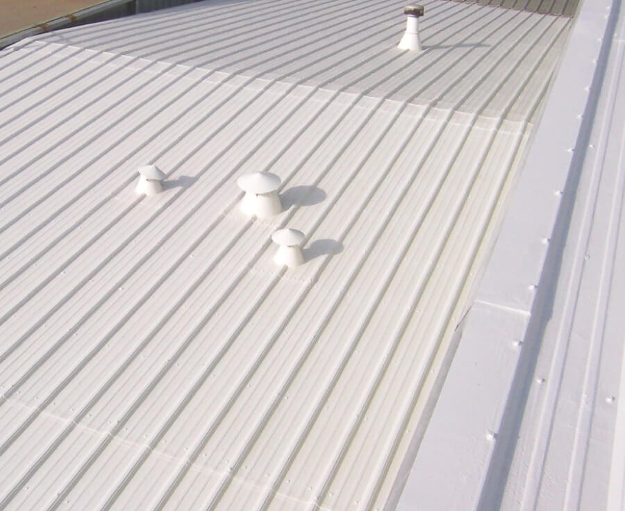 Commercial Meta Roofing